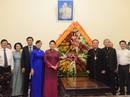 Chủ tịch Quốc hội thăm Tòa Tổng Giám mục Tổng Giáo phận TP HCM