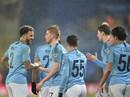 Thắng 11 m nghẹt thở, Man City vào bán kết Cúp Liên đoàn Anh