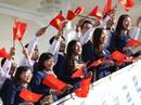 Tàu Nhật Bản chở 326 thanh niên ưu tú đến TP HCM