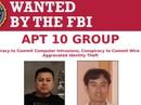 Mỹ giáng đòn vào tổ chức tin tặc Trung Quốc tấn công 12 nước