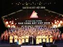 Các doanh nghiệp đạt giải thưởng Sao Vàng Đất Việt 2018