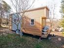 Độc đáo nhà trên xe dùng điện mặt trời đầy đủ tiện nghi