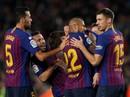 """Nhấn chìm """"Tàu ngầm vàng"""", Barcelona tái chiếm ngôi đầu La Liga"""