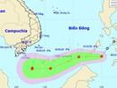 """Sáng nay 30-12, áp thấp nhiệt đới """"lao"""" nhanh vào biển Đông"""