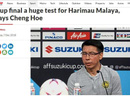 Báo Malaysia buông lời thách thức tuyển Việt Nam
