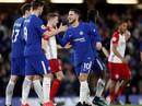 """Hazard lập """"cú đúp"""", Chelsea tìm lại niềm vui chiến thắng"""