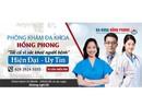 Phòng khám Đa khoa Hồng Phong - Sức khỏe của bạn là trách nhiệm của chúng tôi