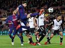 Thắng khó Valencia, Barcelona chạm tay vé chung kết Cúp Nhà vua