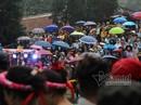 Hàng nghìn người xuyên đêm trẩy hội chùa Hương