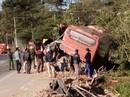 Xe khách và xe tải tông nhau: 1 người chết, 4 người bị thương nặng