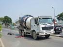 Xe bồn cán chết người ở trung tâm TP HCM