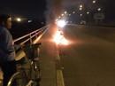 Đốt xe, nhảy cầu Đồng Nai tự tử