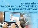 Tra cứu số dư sổ/thẻ tiết kiệm trên website