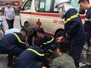 Xe chữa cháy va chạm xe khách trên cao tốc, 11 người thương vong