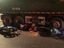 TP HCM: Xe ben tông hàng loạt xe máy