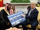 Mỹ sắp bán 1 tỉ USD vũ khí cho Ả Rập Saudi?