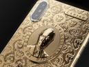 Chiêm ngưỡng Iphone X bằng vàng có hình Tổng thống Nga Putin