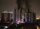 """Lực lượng PCCC đến chung cư Carina """"chỉ sau 7 phút phát hỏa"""""""