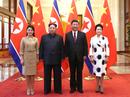 VIDEO: Toàn cảnh ông Tập Cận Bình đón tiếp ông Kim Jong-un
