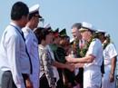 Tàu sân bay USS Carl Vinson đến Đà Nẵng: Mỹ ủng hộ Việt Nam vững mạnh, độc lập