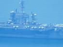 Tàu sân bay USS Carl Vinson đã vào vùng biển cảng Tiên Sa
