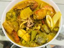 Cà ri hải sản: Lạ miệng sau mớ thịt thà ngày Tết