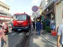 Cháy tiệm sơn sửa xe máy, khu dân cư nháo nhào