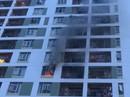 Lại cháy chung cư ở TP HCM, hàng trăm người hoảng loạn