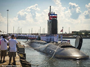 Cận cảnh tàu ngầm Mỹ phóng nhanh tên lửa Tomahawk về phía Syria