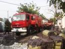 Xưởng tái chế vải bốc cháy dữ dội
