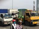 Xe tải tông liên hoàn tại cabin trạm thu phí BOT cầu Đồng Nai