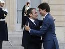 """Ngưỡng mộ """"mối tình"""" giữa 2 nhà lãnh đạo Pháp - Canada"""