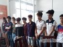 TP HCM: Bắt thiếu nữ cùng 9 đồng phạm tham gia giết người