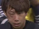 Va chạm với đồng đội, thủ môn tuyển Nhật phù mắt, gãy răng
