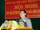 Tăng quyền cho Ủy ban Kiểm tra, ngăn ngừa tẩu tán tài sản, cấm xuất cảnh