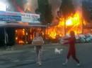 Cháy lớn tại khu du lịch hồ Tuyền Lâm, thiêu rụi quán cà phê xe cổ