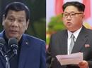 """Tổng thống Duterte: """"Ông Kim Jong-un là người hùng, thần tượng của tôi""""!"""