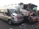 Khói mịt mù gây tai nạn liên hoàn trên cao tốc