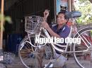 """""""Đại gia"""" xe đạp cũ của học sinh nghèo ở miền Tây"""