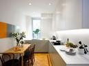 Nhà bếp nhỏ đa chức năng của căn hộ này khiến ai thấy cũng mê