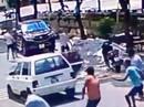Hàng chục thanh niên nổ súng, chém nhau loạn xạ khi đi đòi nợ