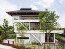 Ngất ngây với ngôi nhà 3 tầng đậm chất kiến trúc Nhật Bản