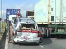 Tông xe liên hoàn trên Quốc lộ 1A, giao thông ùn tắc nghiêm trọng