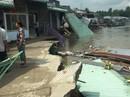 """Lại sạt lở bờ sông Ô Môn, 5 căn nhà bị """"hà bá"""" nuốt chửng"""