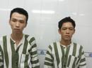 Bị truy đuổi, hai kẻ cướp giật dí dao chống công an