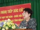 Bà Phan Thị Mỹ Thanh bị cử tri TP Biên Hòa truy vấn về tư cách ĐBQH