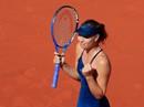 """Clip Roland Garros 2018: Sharapova thắng nhọc, Serena hóa """"người mèo"""""""