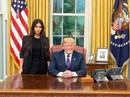 """Kim """"siêu vòng ba"""" diện kiến ông Donald Trump"""