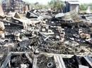 TP HCM: Khu lán trại công nhân ở quận 9 cháy tan hoang