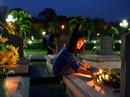 Thắp nến tri ân các anh hùng, liệt sĩ Điện Biên Phủ